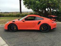 orange porsche 911 gt3 rs my lava orange gt3 rs is here rennlist porsche discussion forums