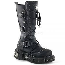leather motorcycle shoes dma 3000 vegan leather mens cyber goth boot demonia biker boots
