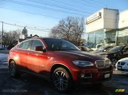 2014 bmw x6 xdrive50i in vermillion red metallic 592441 auto