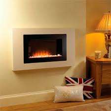 Electric Wall Fireplace Electric Fireplace Contemporary Closed Hearth Wall Mounted