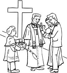 christian church baptism coloring pages place color