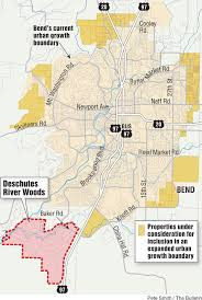 Bend Oregon Map Deschutes River Woods To Stay Outside The Ugb Why The Area South