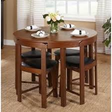 dining room sets for small spaces all tucked in hans s space saving dining set dining