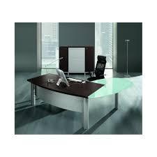 bureau de direction en verre bureau de direction x avec retour convivialité en verre