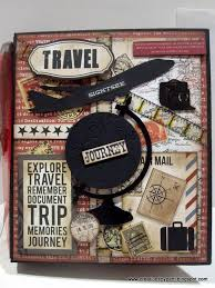 travel photo album creations by patti teresa collins far away travel mini album