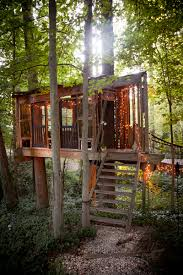 cool shed treehouse by peter bahouth ignant com