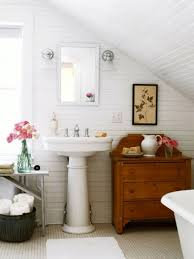 bathroom slanted roof bathroom ideas slanted ceiling white