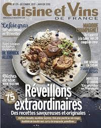 cuisine et vins de noel votre abonnement au magazine cuisine et vins de à gagner