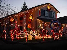 Interior Photos Of Houses Decorated For Christmas Christmas Lights Holiday Display At 506 Arlene Dr Vacaville Ca