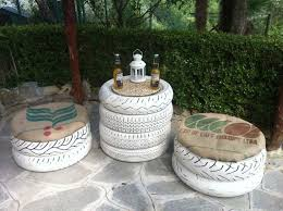 Creative Recycled Outdoor Furniture All Home Decorations - Recycled outdoor furniture