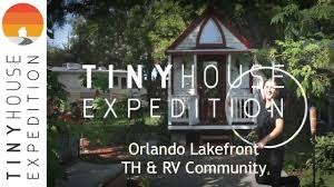 inside orlando lakefront tiny house community youtube
