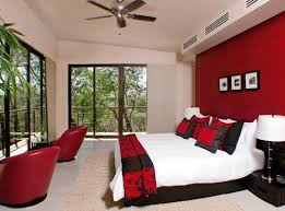 red and black furniture for home interior 4 home ideas