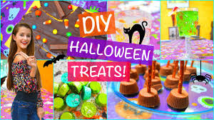 diy halloween party treats and snack ideas tatiana boyd youtube