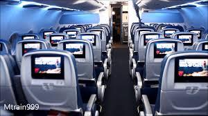 Delta Comfort Plus Seats Delta A319 Cabin Comfort Youtube