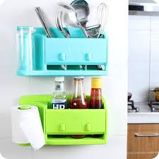 Storage Boxes For Bathroom Self Adhesive Kitchen Storage Box Organizer Plastic Bag Holder