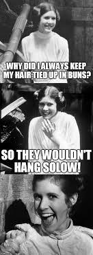 Princess Leia Meme - princess leia puns memes imgflip