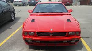 pink maserati interior rosso maserati shamal for sale at 120000