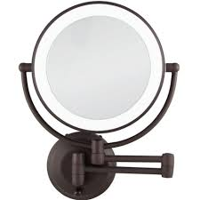battery operated wall mounted lighted makeup mirror lighting wall mounted lighted makeup mirror surprising epic zadro
