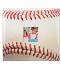 baseball photo album baseball 12 x12 postbound album joann