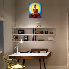 acrylic buddha painting 20 x16 canvas painting wall art home