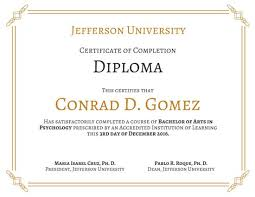 diploma certificate templates canva