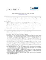 Sample Resume Objectives For Web Developer objective resume objective bank teller