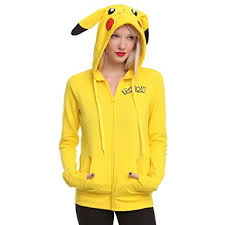 amazon com womens i am pikachu hoodie medium clothing
