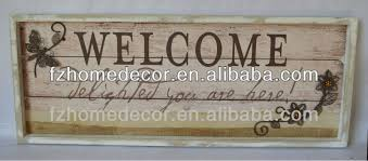 decorative wooden wall hanging sign plaque decor with quote