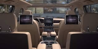 lincoln navigator interior 2016 lincoln navigator navigates new personalized tech carplay