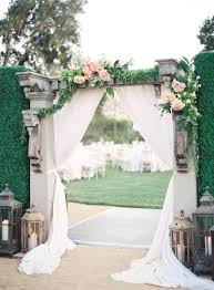 wedding arch entrance 43 best outdoor wedding entrance ideas pink lover