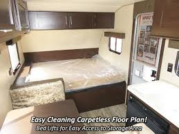 Forest River Travel Trailers Floor Plans 2017 Forest River Wolf Pup 16bhs Travel Trailer Coldwater Mi