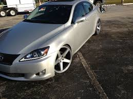 2010 lexus is250 2010 lexus is250 concavo wheels cw5 lowered on springs