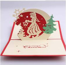 blessing cards dhl ship 3d diy christmas card blessing cards greeting cards for