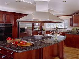 kitchen island with cooktop interior design