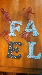 wooden letter decorations nursery childrens bedroom