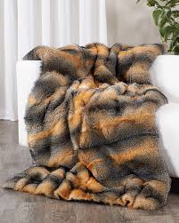 Faux Fur Throw Rugs Full Pelt Grey Fox Fur Blanket Fur Throw Fursource Com