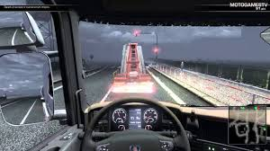 scania truck scania truck driving simulator the game free ride missions rain