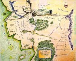 Narnia Map Why Do So Many Fantasy Maps Share This Feature Petros Jordan