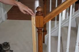How To Install Stair Banister Beauty In The Ordinary Installing A Baby Gate Without Drilling