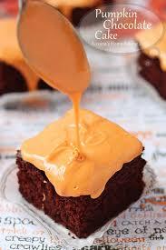 pumpkin chocolate cake recipe