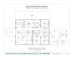 horse barn with apartment floor plans barn with living quarters the denali garage apt 48 barn pros