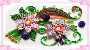 How To Make Easy Paper Flowers For Cards - quilling artwork made easy how to make beautiful flower using