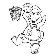 20 free printable basketball coloring pages free