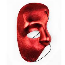 cheap black phantom of the opera mask for costume us for sale