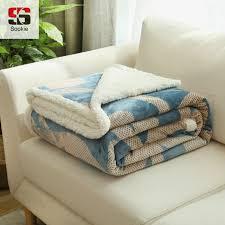jeter un canapé sookie berbère polaire couvertures chaud doux cachemire jeter lit