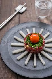 tartare cuisine tuna yukhoe style tuna tartare luxe recipes