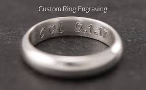 custom ring engraving wedding ring engraving add custom ring engraving engraving