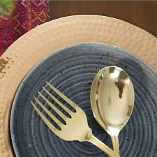 Home Decor Wholesalers Usa Brass Serving Spoon