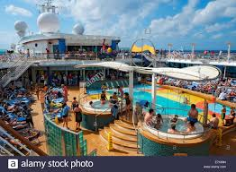 swimming pool royal caribbean cruise ship tampa florida us