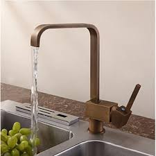 Kitchen Faucets Uk Antique Inspired Solid Brass Kitchen Tap Antique Brass Finish